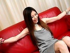 Japanese cock teaser, Aya Sugiura is having some fun, uncens