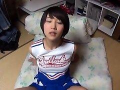 Beautiful asian gal Riku Minato enjoys extreme fuckfest