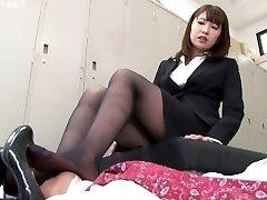 Japanese Nymph Foot Fetish - NFDM-408 B