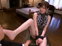Greatest Japanese girl Rico Yamaguchi in Exotic Foot Fetish, Stockings/Pansuto JAV video