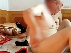 Japanese grandpa fucking hard