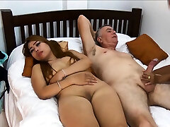 Thai girlfriend brings her friend along for a three way