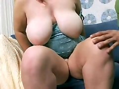 Sweet young bbw with great hangers fucked