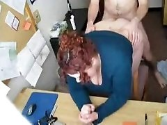 Super-steamy FUCK #57 (Redhead Plumper Secretary in the Office)