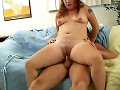 Whorey Fat Chubby Teen Ex GF loved sucking and boinking-1