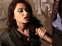 Erica Bella get pounded in the toilet