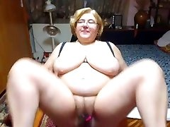 Mature with fat globes