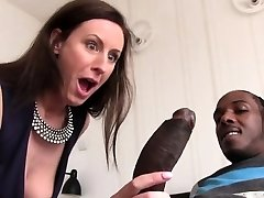 Lara Latex Quenches Her Hunger For Black Jizz-shotgun