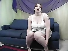 Rowan  BBW Gets Slapped And Fucked