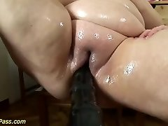 plumper mom gets pumped and anal invasion fucked