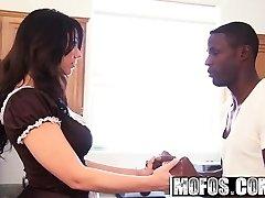 Mofos - Milfs Like It Ebony - Big Ass Maid starring  Madison