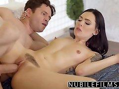 Babysitter Marley Brinx Hot Fuck After Wife Leaves