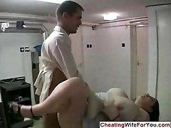 Massive housewife cuckold fetish