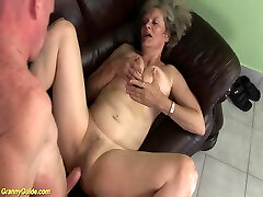 wooly 76 years old granny first time big cock fucked
