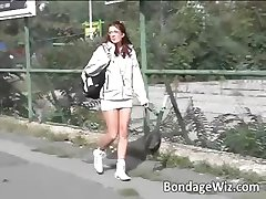 Hot redhead girl gets pussy fucked part2