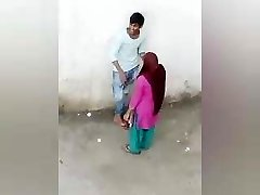 Indian Paramour Romance Outdoor, Desi Dame Boy Romance, village