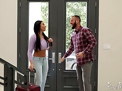 Memorable and passionate anal sex fun with bodacious French goddess Anissa Kate