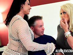 Alura Jenson Milf Threesome Fuck Brandie Mae