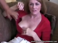 Wicked Threesome For Inexperienced GILF Melanie