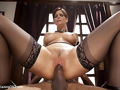 Domestic Anal Invasion MILF Training Syren de Mer, Day One - TheTrainingofO