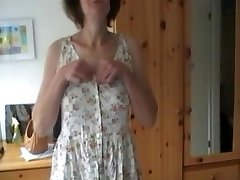 Shy Wife strips and plays