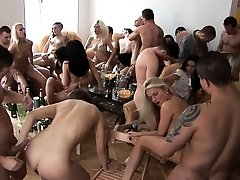 Big Tits Blonde Jizm Frosted at Home Party