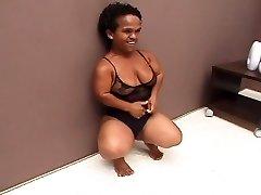 Dark Brazilian Aged Midget Penetrated Wonderful