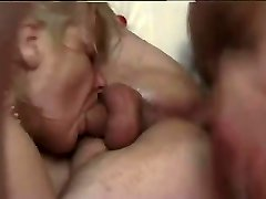 French mature bisexous-couple fucked hard by a french porn actor