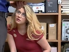 ShopLyfter - Warm Platinum-blonde Gets Caught Stealing And Need To Drill The Officer
