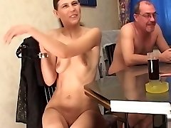 Inexperienced mature bisexual foursome