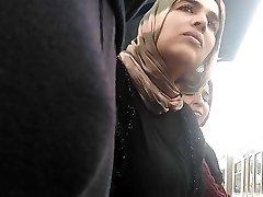 hijab milf stirrar dt dildo bula