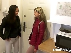 Shrima Malati and Gina Gerson have sex at home