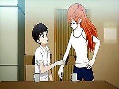 Teen anime enjoys twat licked