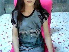 Crazy amateur movie with skinny, small orbs, college, strip, solo, web cam scenes