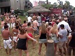 Fabulous pornstar in crazy blonde, group romp adult scene