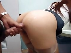 Japanese girl penetrated in public