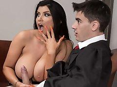Ex Wife Analed By Judge Jordi