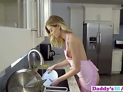 Provocative Haley Reed Tries Anal Sex With Stepdad In Kitchen!