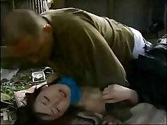 Giapponese storia d'amore con questo piccolo teen inchiodato da vecchio adolescente
