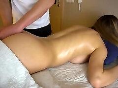Teenager girlfriend gets sensual massage