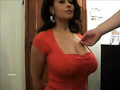 Xxl tits Danica Collins as her tits groped.