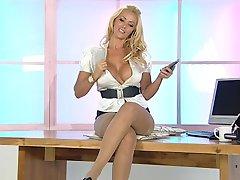 Lucy zara nylon heels fetish