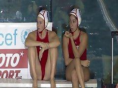Spanska kvinnliga vattenpolo lag