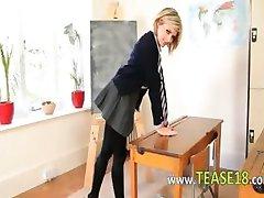 sweet teacher teasing body just for you