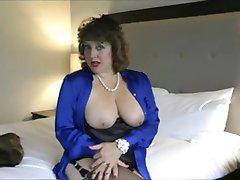 Hot cougar teasing