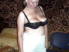 Russians Mature women in knickers! Amateur big collection!