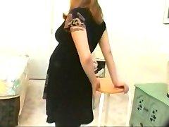 Vintage gravida flickor porr
