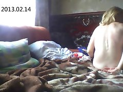 Russian amateurs. Hidden cam.