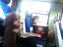 Train FLASH - a wholeDay flashing with cum