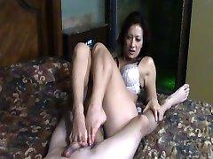 Jasmine's footjob 2
